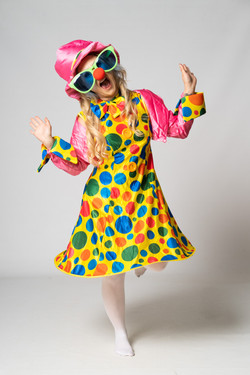Silly Polly Clown party entertainer