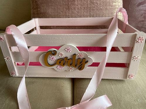 *PERSONALIZED* Small 'Sunshine' Birthday Box/ Crate