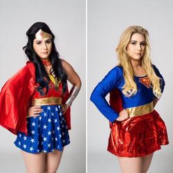 super hero costume entertainers