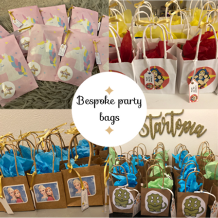 Bespoke Party Bags- Filled