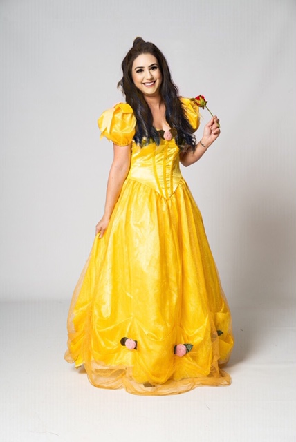princess belle entertainer