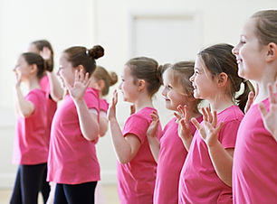 Group Of Children Enjoying Drama Class T
