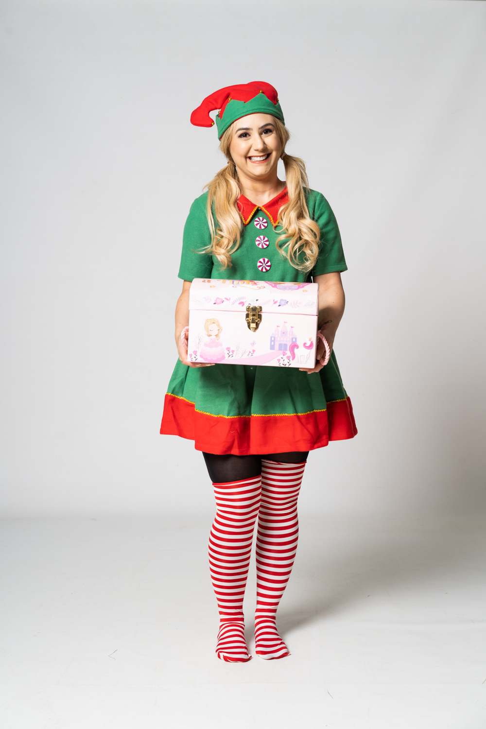 Christmas Elf party entertainer
