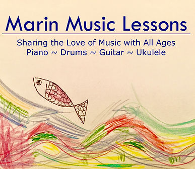 Marin Music Lessons - online and in person - Marin County, SF Bay Area, North Bay, East Bay