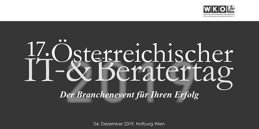 SPEAKER 17. Österreichischer IT- & Beratertag 2020