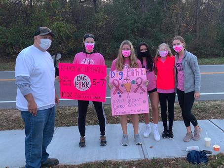 Thank you RHAM Girls Volleyball!