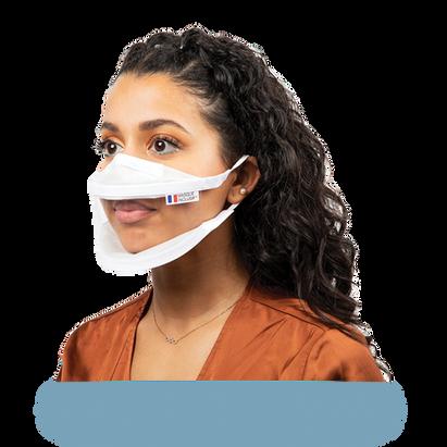Masque transparent