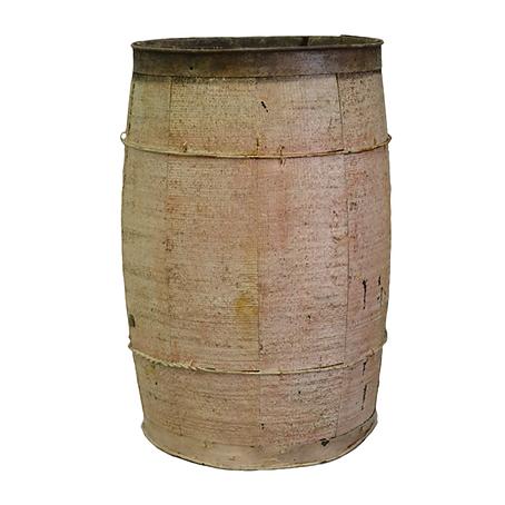 Wooden, painted bucket