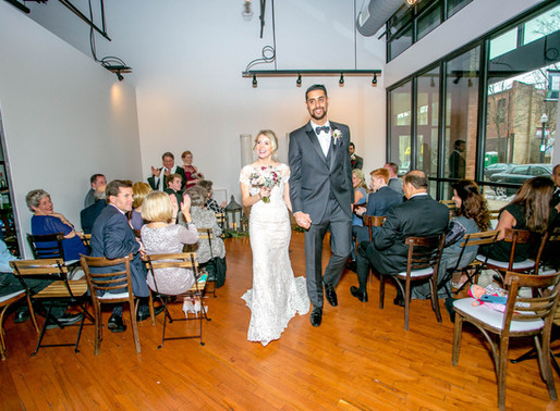 A Winter Elopement at The Loft of Elements Preserved