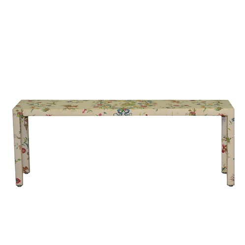 Chinoiserie Covered Sofa Table