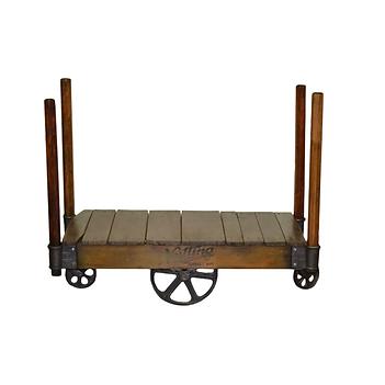 Nutting Trucking Vintage Railroad Cart