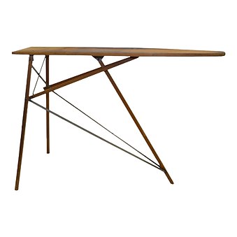 Wooden, Vintage Ironing Board