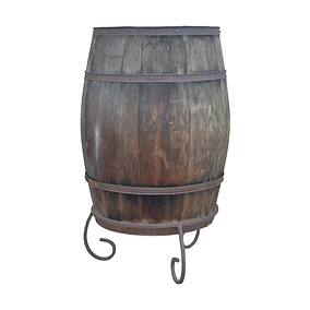 Grain Barrel on Stand