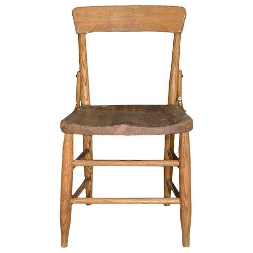 Oak Child's Chair, Light Brown