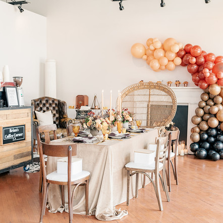 A Coffee-Inspired Birthday Celebration at The Loft of Elements Preserved