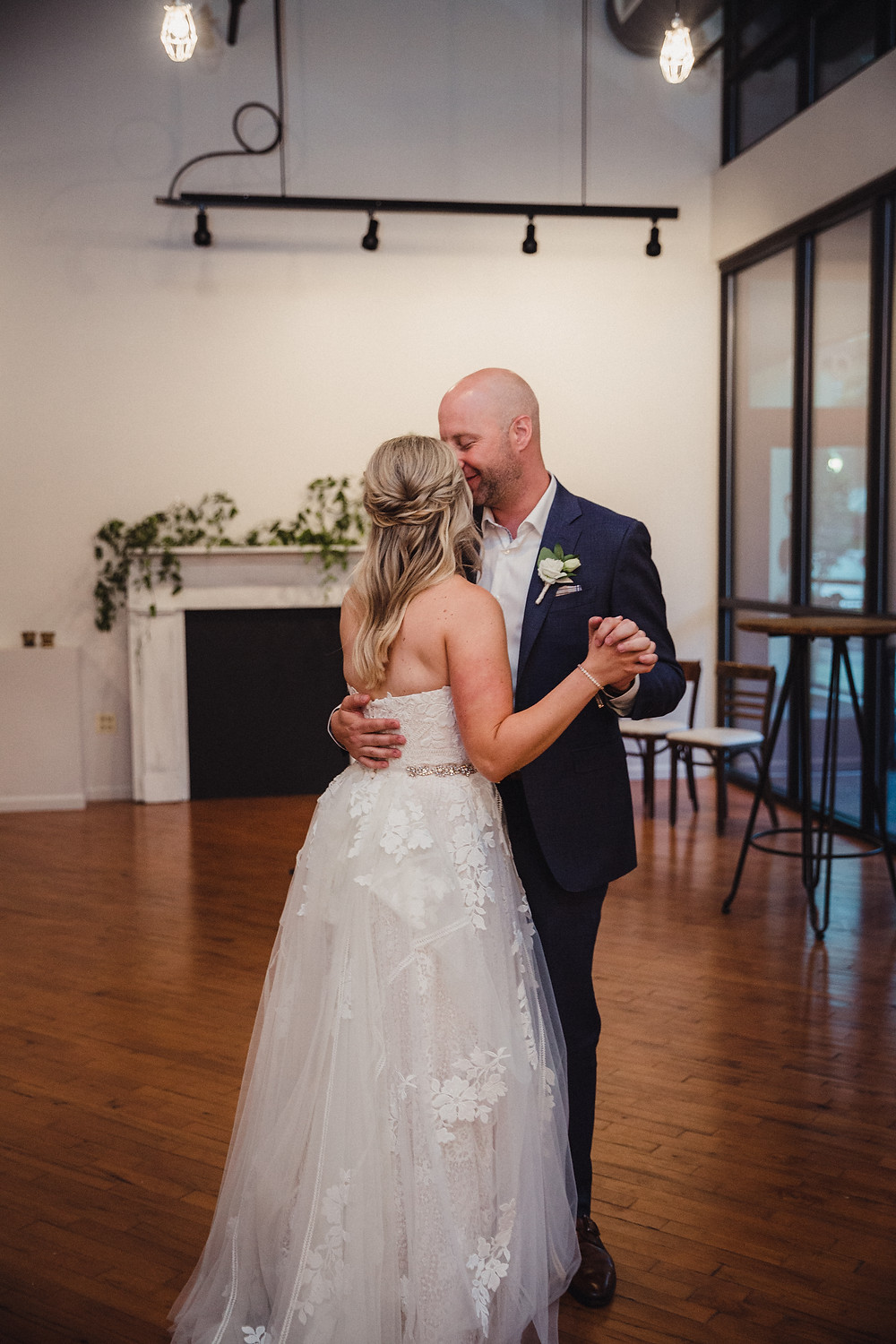 First Dance for our bride and groom at The Loft of Elements Preserved
