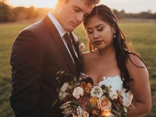 Autumn wedding inspiration at Lincoln Farmstead, Huntley, IL