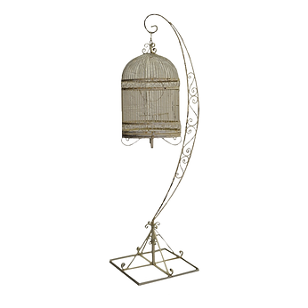 Iron Scroll Birdcage