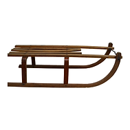 Small Wooden, German Sled