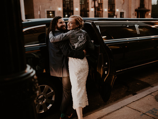 Craig and Summer's Vintage Wedding Reception at Row 24 Events, Chicago