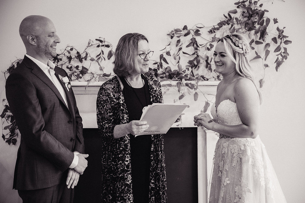 Intimate moments while saying their vows in front of their loved ones are the most special moments.