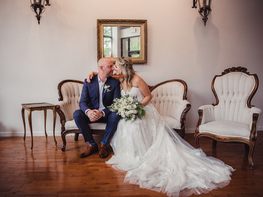 Tera and Shawn's Intimate Wedding at The Loft