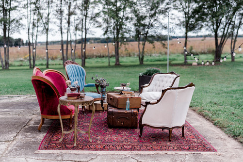 Burgundy-blue-ivory-lounge-seating-area