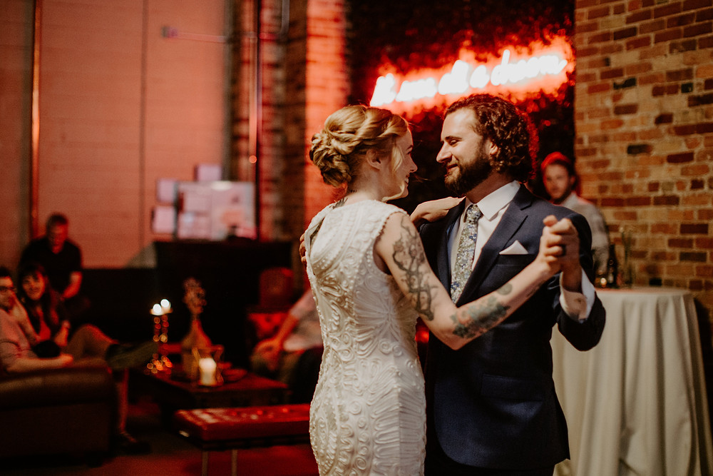 Everyone enjoyed the happiness that was so evident between the bride and groom