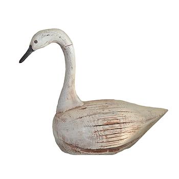 Vintage, Wooden Swan Decoy