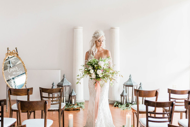 bride-aisle-floral-bouquet