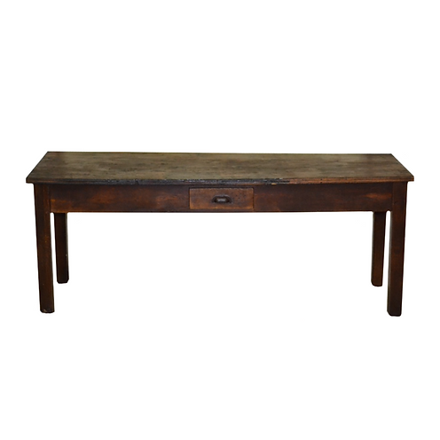 Wooden Post Office Table