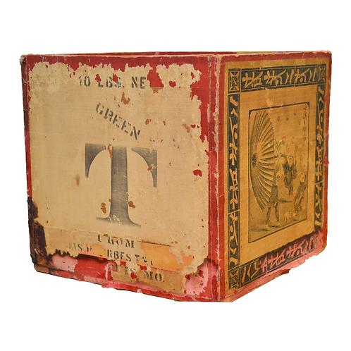 Vintage Chinese Tea Box