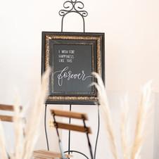Vintage Blackboard Signage