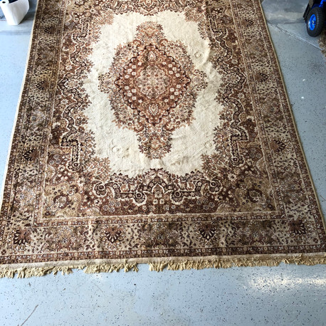 Brown & Ivory Area Rug
