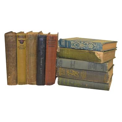Assorted books