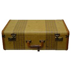 Striped, Tweed Luggage