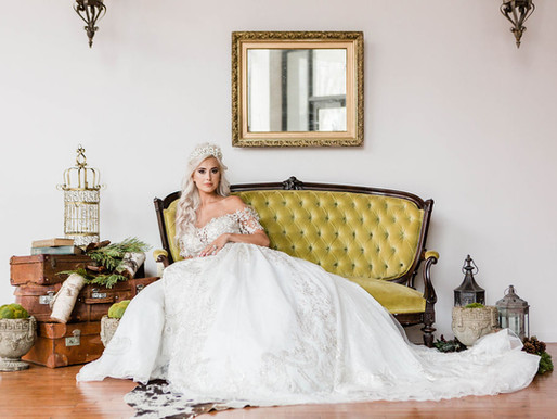 Woodland Wedding Inspiration at The Loft of Elements Preserved