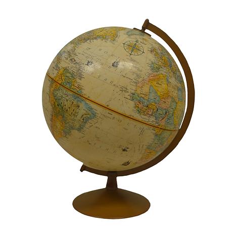 Tan and Brown Globe