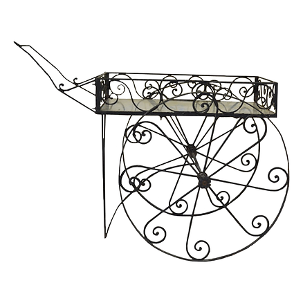 Iron Flower Cart