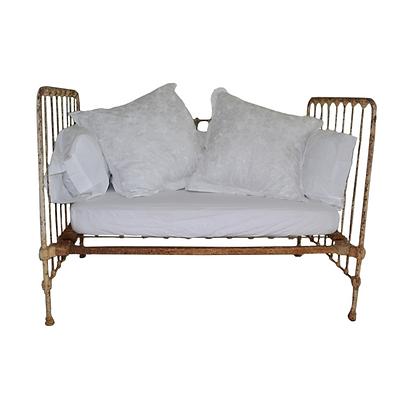 Vintage Repurposed Crib/Daybed