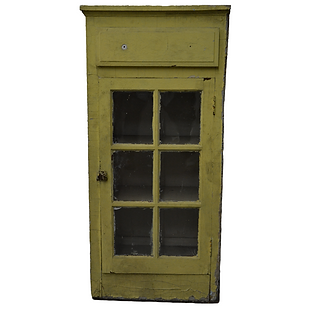 Yellow, Chippy Cabinet
