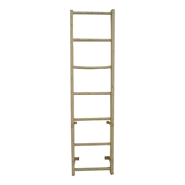 Large White, Wooden Ladder