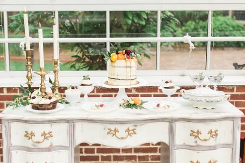 white-gray-desk-dessert-table