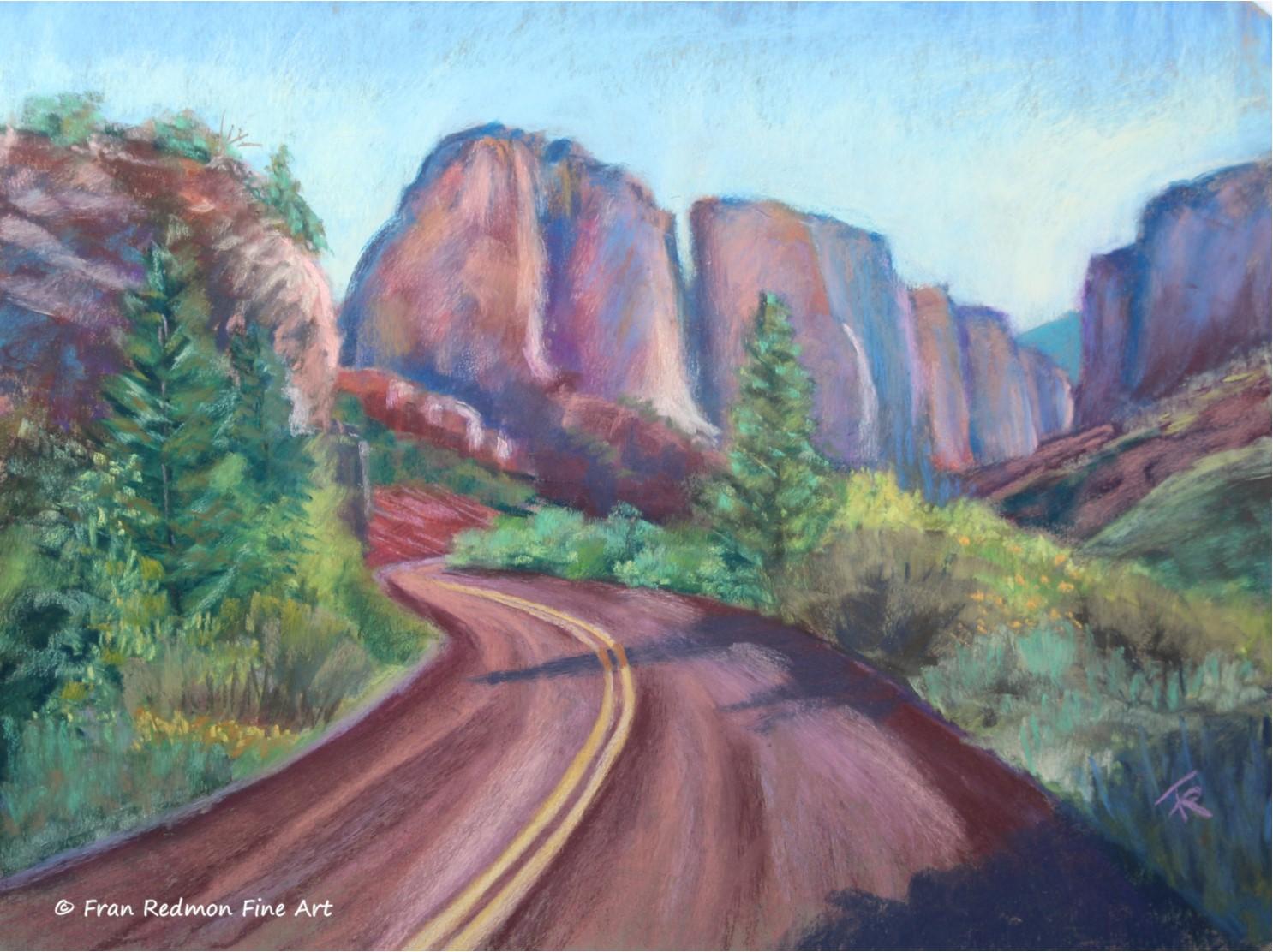 Kolob Canyon Approach