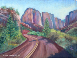 Kolob Canyon Approach