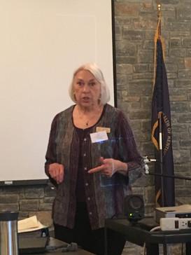 Mary Reed, Speaker