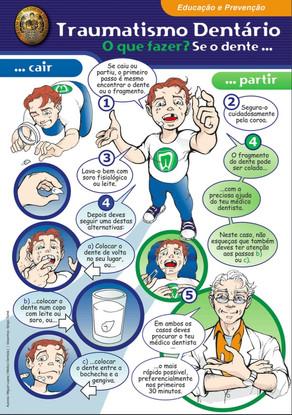 Traumatismo Dentário - O que fazer?