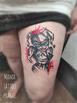 joker tattoo