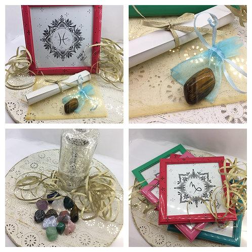 Mandala & polodrahokam & henna