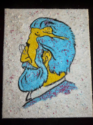 mozaika Freud a ženy